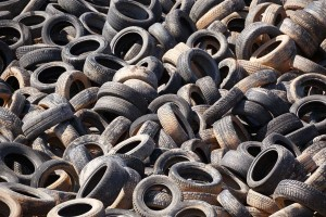 Recycled Tire Removal